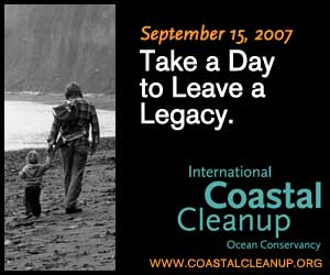 International Coastal Cleanup 2007